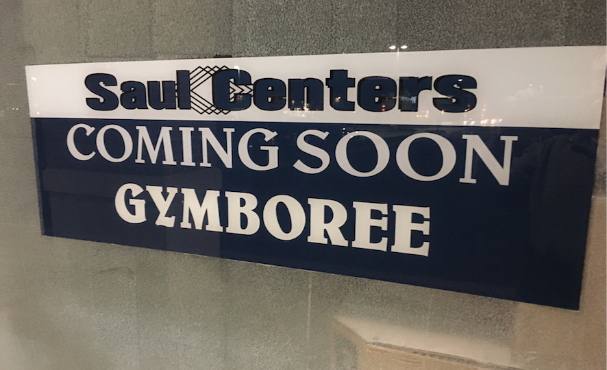 gymboree sign