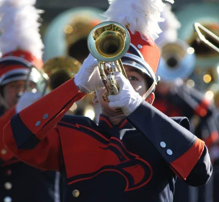 Ashburn's Briar Woods High School band