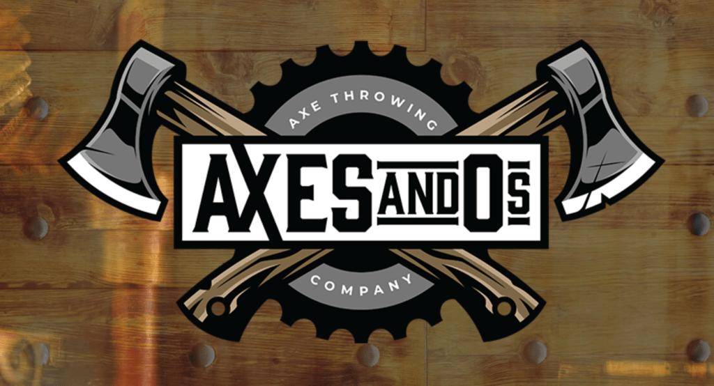 axes and os axe throwin logo